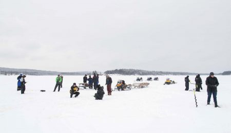 View our ice fishing experiences
